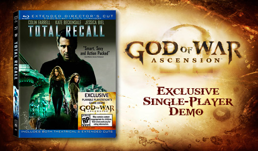 God of War: Ascension Single Player Demo with Total Recall