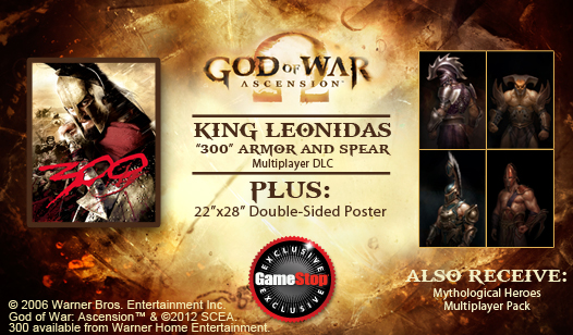 God of War: Ascension™ Pre-Order Exclusive: King Leonidas
