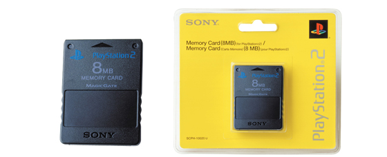 Memory Card (8MB) (for PlayStation®2)