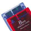 Memory Card (8 MB) (for PlayStation®2) - PS2 Accessories