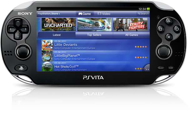 PS Vita System Instant Game Access