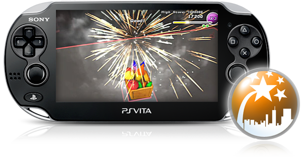 PS Vita Fireworks
