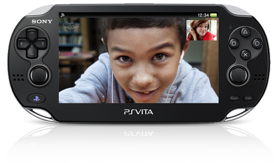 PS Vita System Skype Application